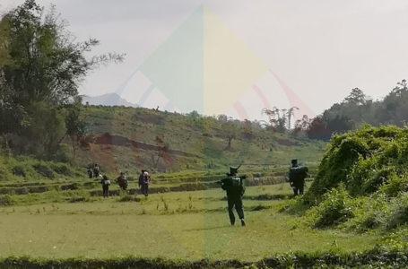 ခရစ္စမတ်နေ့မြန်မာအစိုးရ တပ်မ (၉၉)ကို KIA မိုင်းခွဲ တိုက်ခိုက်