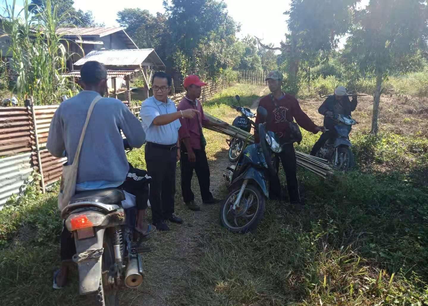နမ်ဆန်ယန် ကျေးရွာအနီး တိုက်ပွဲဖြစ်ပွားခဲ့မှု ငြိမ်းချမ်းရေးကော်မရှင်သို့ တိုင်ကြားထား