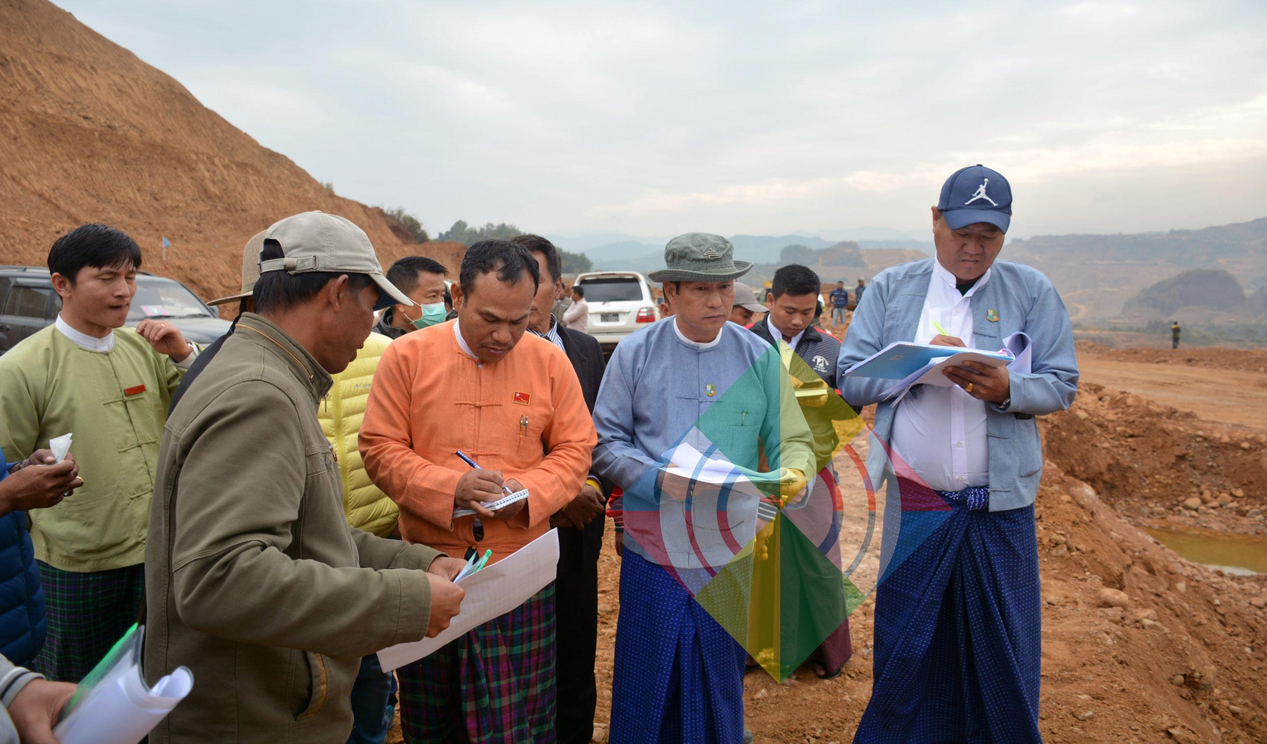 ကျောက်နီထွက်သည့် နမ့်ယာပိုင်းကို လုံခြုံရေးအခြေအနေအရ လုပ်ကွက်ချထားမှုအစီစဉ် ချန်လှပ်