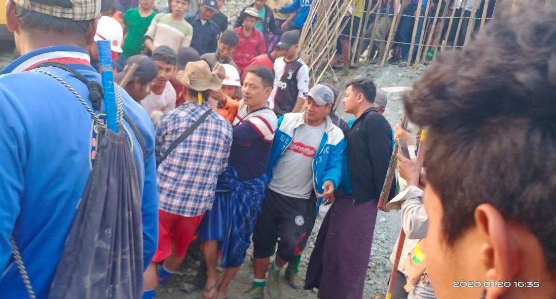 ဖားကန့်တွင် မြေစာပုံပြိုကျ ရေမဆေးသမား ၁ ဦးသေဆုံး