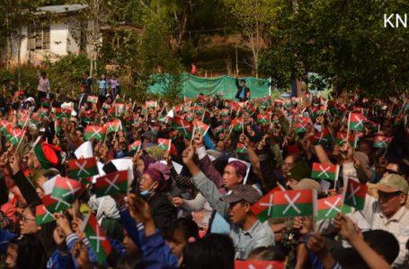 ကချင်တော်လှန်ရေးနေ့ အခမ်းအနားဆုတောင်းပွဲ မြစ်ကြီးနားတွင်ပြုလုပ်