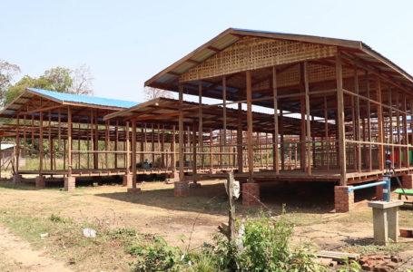 မိုးကာတဲဖြင့် ၂ နှစ်ခိုလှုံခဲ့ရသော ပမ္မတီးစစ်ရှောင်များအတွက် နေအိမ်ဆောက်လုပ်ပေး