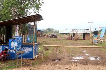 Covid-19 ကူးစက်ရောဂါကြောင့် နမ္မတီးစစ်ရှောင်များ မြို့ပြင်စခန်းသစ်သို့ ပြောင်းရွေ့