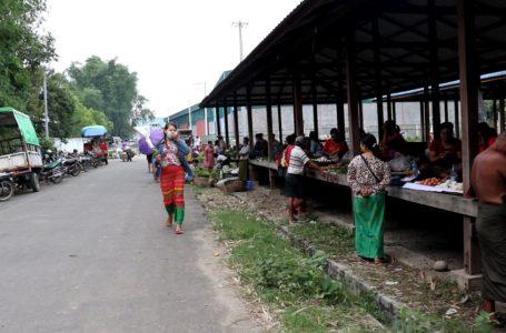 စီတာပူ ကုန်တင်ကုန်ချစခန်းဘေးနားတွင် ပျံကျဈေးနေရာသတ်မှတ်