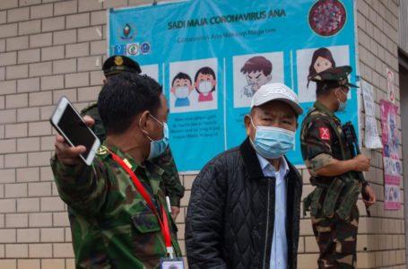 တရုတ်-မြန်မာနယ်စပ် KIO COVID-19 စစ်ဆေးရေးဂိတ် မြန်မာစစ်တပ်၏ ဖယ်ရှားဖျက်ဆီး ခံရ