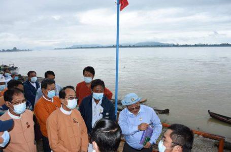 ဧရာဝတီမြစ်ရေ မြစ်ကြီးနားမြို့သို့မဝင်စေရန် ရေတံခါးပြုလုပ်ရန်စီစဉ်နေ