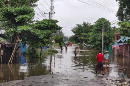 ဧရာဝတီမြစ်ရေ မြစ်ကြီးနားမြို့တွင် စိုးရိမ်ရေအမှတ်မရောက်ပဲ ပြန်ကျသွား