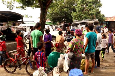ကချင်စစ်ပြေးဒုက္ခသည်များကို KHCC က နေရပ်ပြန်ပို့