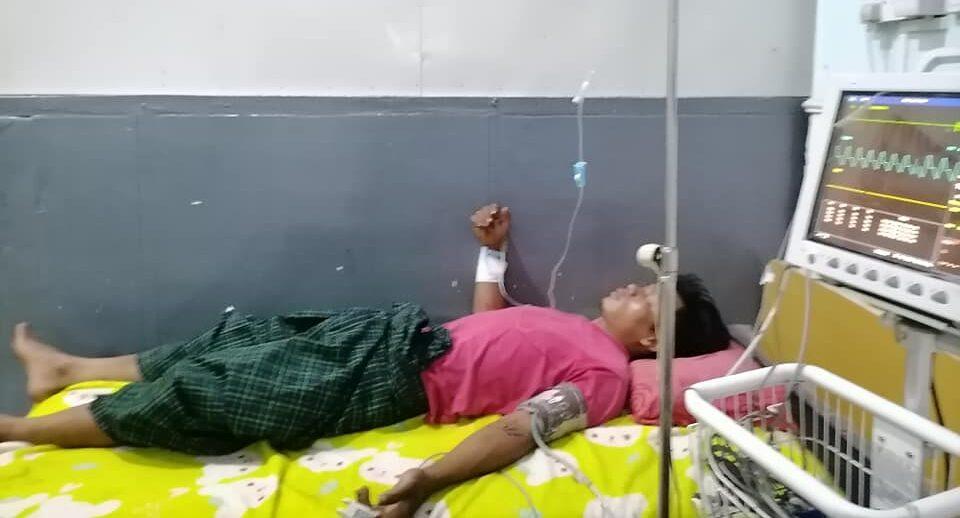 လူငယ်တစ်ဦးရိုက်နှက်ခံရမှု မြောက်ပိုင်းတိုင်းစစ်ဌာနချုပ်သို့တိုင်ကြားထား