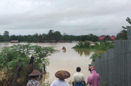 ရှဒူးဇွပ်(Ja Htu Zup)ကျေးရွာ ရေဘေးဒဏ်ထပ်မံကြုံတွေ့နေရ