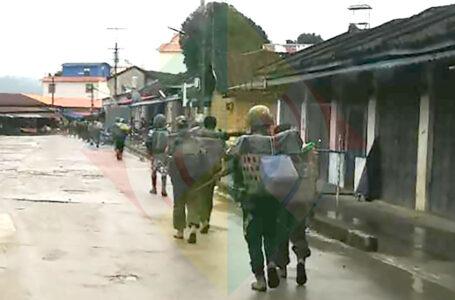 မြန်မာစစ်တပ် နှင့် KIA ရှမ်းမြောက် ၂နေရာမှာ တိုက်ပွဲ ဖြစ်ပွား