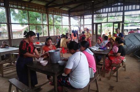 မြန်မာစစ်တပ် နှင့် မြောက်ပိုင်းမဟာမိတ် တိုက်ပွဲကြောင့် ရွာသား ၂၀၀ ကျော် ထွက်ပြေးနေရ