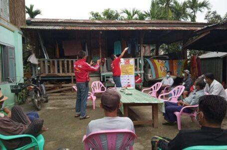 ခွင့်ပြုချက်မရှိဘဲ မဲဆွယ်ခဲ့သည့် ဖားကန့် NLD ကိုယ်စားလှယ်လောင်းကို USDP ကိုယ်စားလှယ်လောင်းက တိုင်းကြား