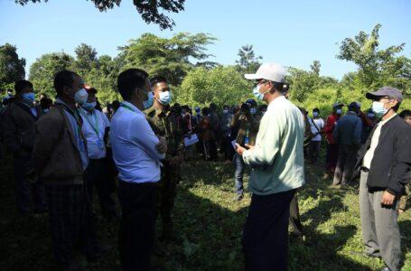 ဒဘတ်(Dabak) ကျေးရွာ နေရပ်ပြန်နိုင်ရေး စိစစ်မှုများ လုပ်ဆောင်နေ
