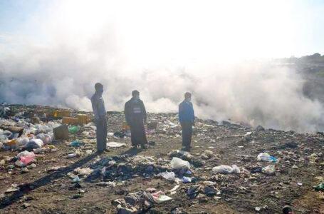 ဗန်းမော် တစ်မြို့လုံးစာ အမှိုက်ပုံ မီးလောင်မှုကြောင့် လေထုညစ်ညမ်းမှုကို အမြန်ဖြေရှင်းပေးရန်ဒေသခံများတောင်းဆို