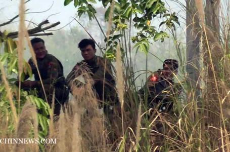 မိုင်းနင်းသေဆုံးခဲ့သော သားအမိ ၂ စီးကို မသင်္ကာကြောင်း စစ်တပ်ဘက်က စွပ်စွဲခဲ့