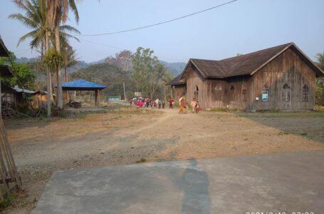 လက်နက်ကြီးကျည်ကြောင့် ကာမိုင်းဒေသခံ ၄ဦး ထိခိုက်ဒဏ်ရာ ရရှိ