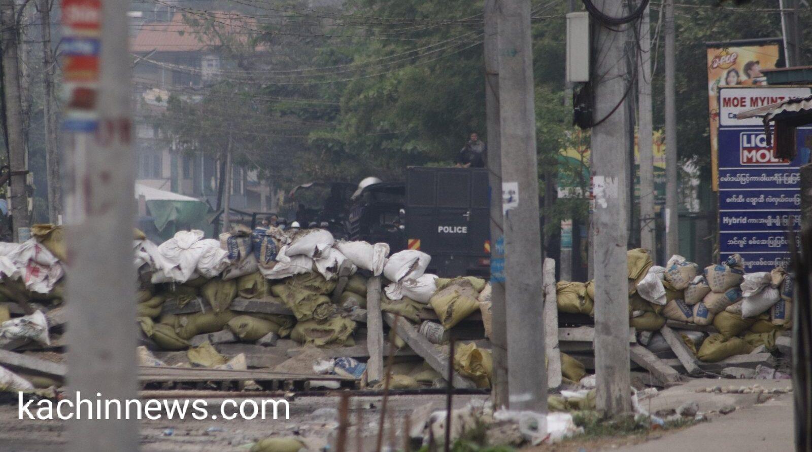 ဆန္ဒပြသူများကို ရဲနှင့် စစ်သားများ ပိတ်ဆို့ပစ်ခတ်သဖြင့် ပြည်သူ ၁ ဦး ကျဆုံး