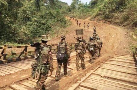 KIO ဌာနချုပ် နယ်မြေသို့ အာဏာသိမ်းစစ်တပ်က လက်နက်ကြီး ပစ်ခတ်