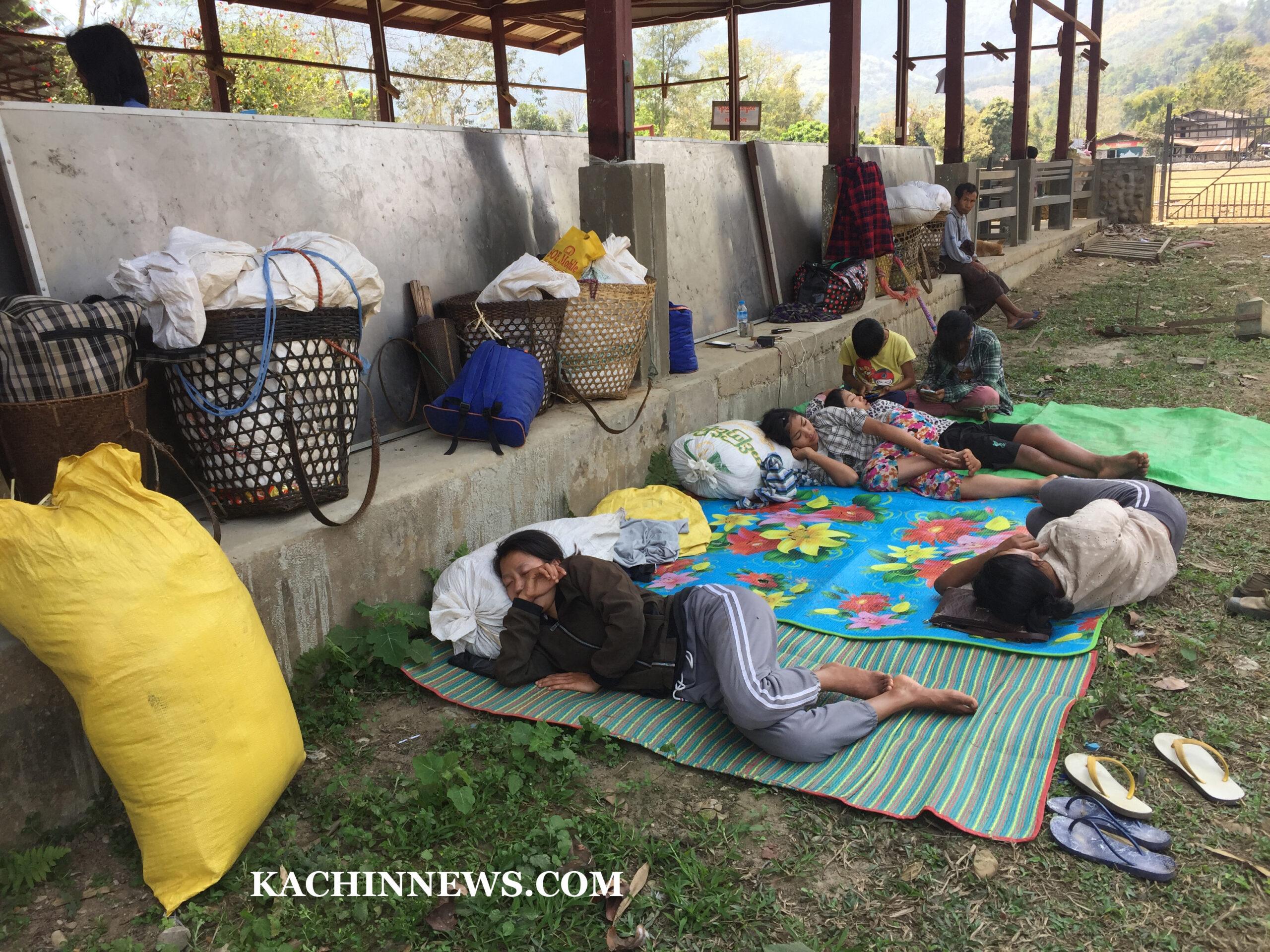 အင်ဂျန့်ယာန် စစ်ရှောင်များကို ပလန စစ်ရှောင် စခန်းသို့ ပြန်လည်နေထိုင်ရန် အာဏာသိမ်းစစ်တပ်က ခွင့်မပြု။