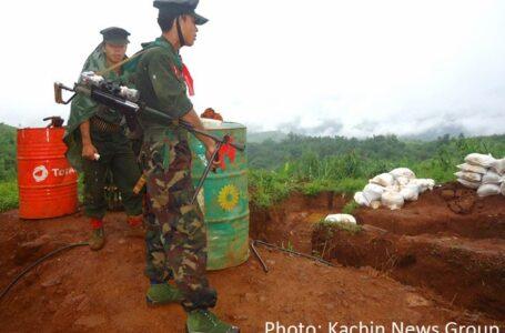 ဖားကန့် အာဏာသိမ်းစစ်တပ်၏ တပ်စခန်း ၂ ခုကို KIA သိမ်းပိုက်