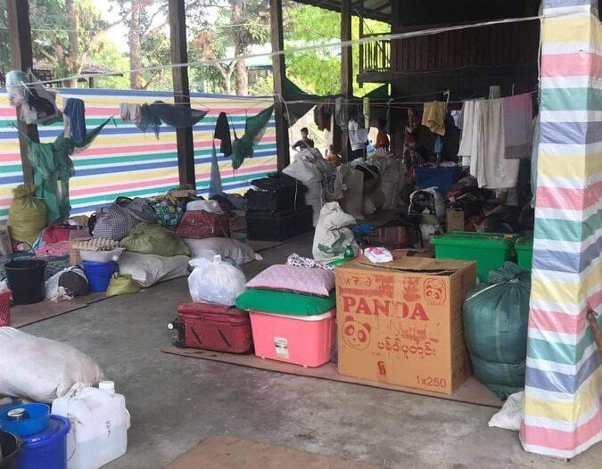 ဗန်းမော်ခရိုင်စစ်ရှောင်များအတွက် အစားအသောက်နှင့် အသုံးအဆောင်လိုအပ်နေဆဲ
