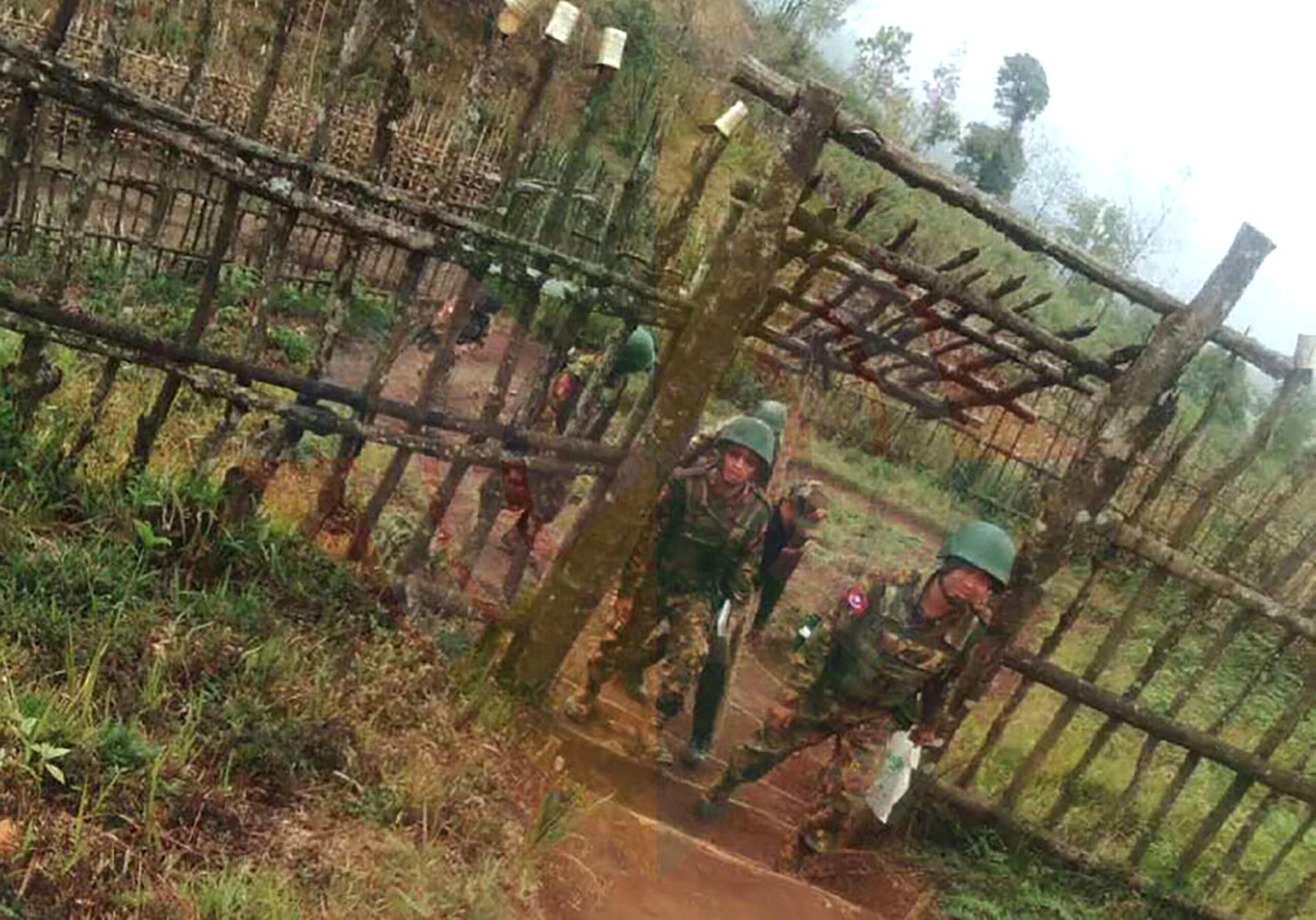နောင်ကွမ်ကျေးရွာအနီး အာဏာသိမ်းစစ်တပ်စခန်းဘက်တွင် KIA နှင့် ပစ်ခတ်မှုဖြစ်ပွားခဲ့