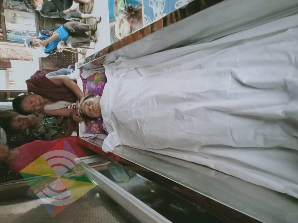 ဖားကန့် လူမှုကူညီရေးအသင်းမှ လူငယ်တစ်ဦး သေနတ်ဖြင့် ၃ကြိမ်ထက်မနည်း ပစ်သတ်ခံရ
