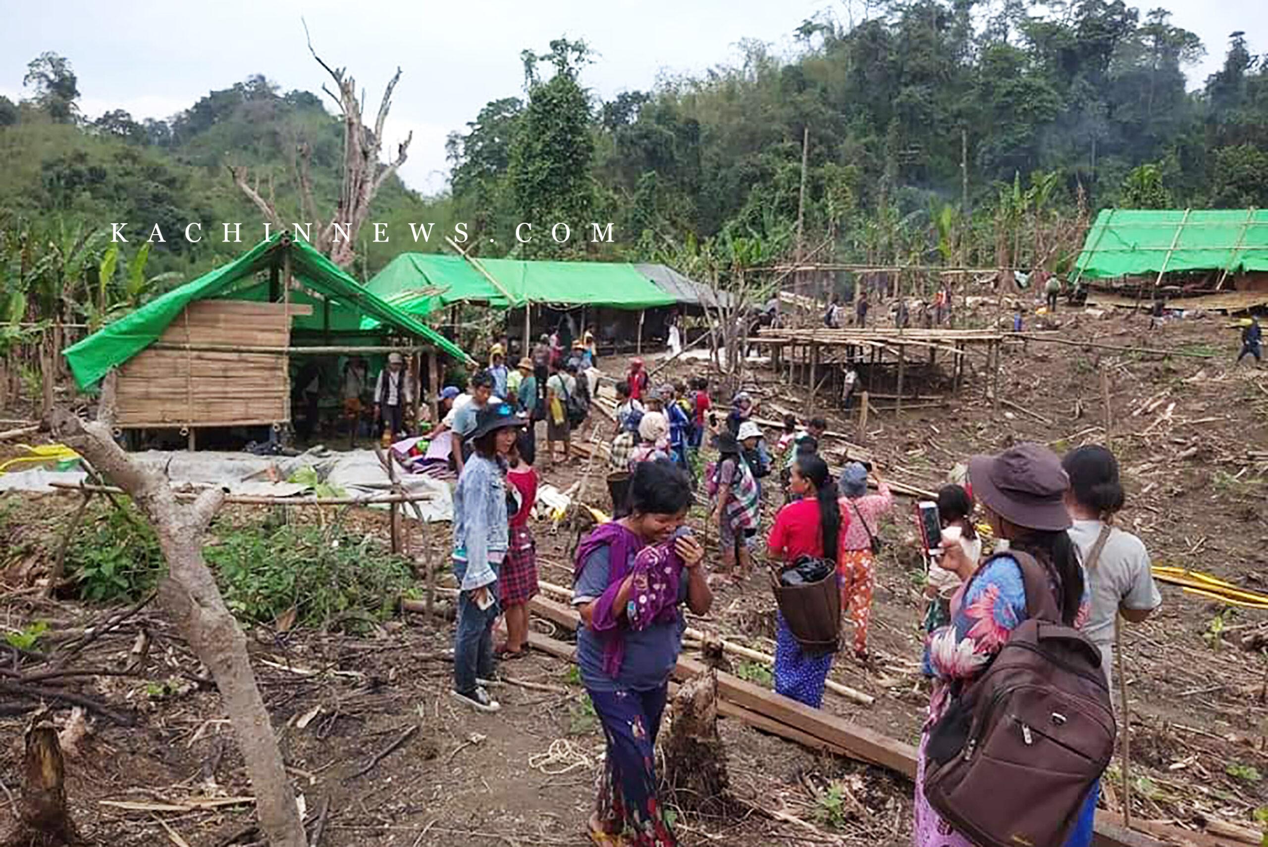 ဆွမ်ပီယန်ကျေးရွာတွင် တရားမဝင် ရွှေတူးဖော်နေသည့်ကုမ္ပဏီကို ဒေသခံများ သွားရောက်ကန့်ကွက်