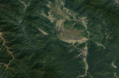 ပူတာအို-လုံရှာယန်လမ်းတွင် အာဏာသိမ်းစစ်တပ်ယာဉ်တန်းကို KIA တိုက်ခိုက်