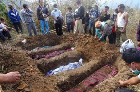 အစိုးစစ်တပ်မှ ကချင်လူငယ် ၃ ဦးအား မီးရှို့သတ်ထား