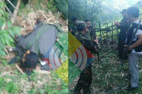 ရှေ့တန်းမှ အစိုးရတပ် အတွင်း လုပ်ကြံ သတ်ဖြတ်မှု ဖြစ်ပွား