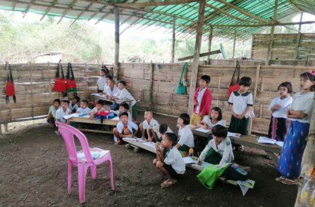 ဘွမ်ရာယန်စစ်ရှောင်စခန်းတွင် ကလေးများစာသင်ကြားနိုင်ရန် အကူညီအများအပြားလိုအပ်နေ