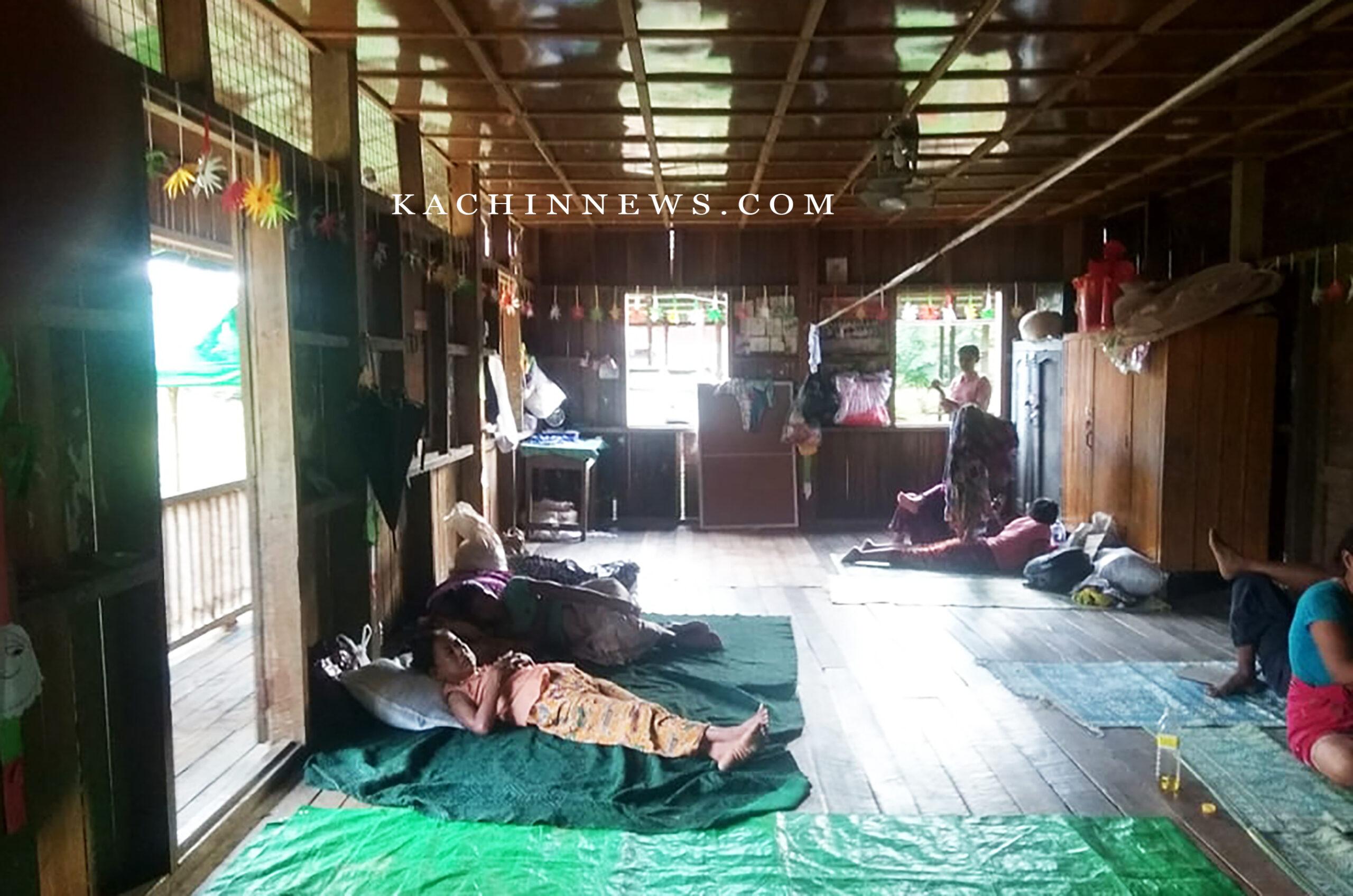 ဖားကန့် လမ်းတွင် အာဏာသိမ်းတပ်နှင့် KIA တိုက်ပွဲဖြစ်ပြီး ကျေးရွာ ၄ ခု ဒေသခံများ ထွက်ပြေးတိမ်ရှောင်နေရဆဲ
