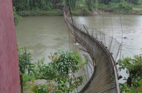 ပူတာအိုတွင် ရေကြီးမှုကြောင့် တံတား ၂ စင်းပျက်စီးသွား