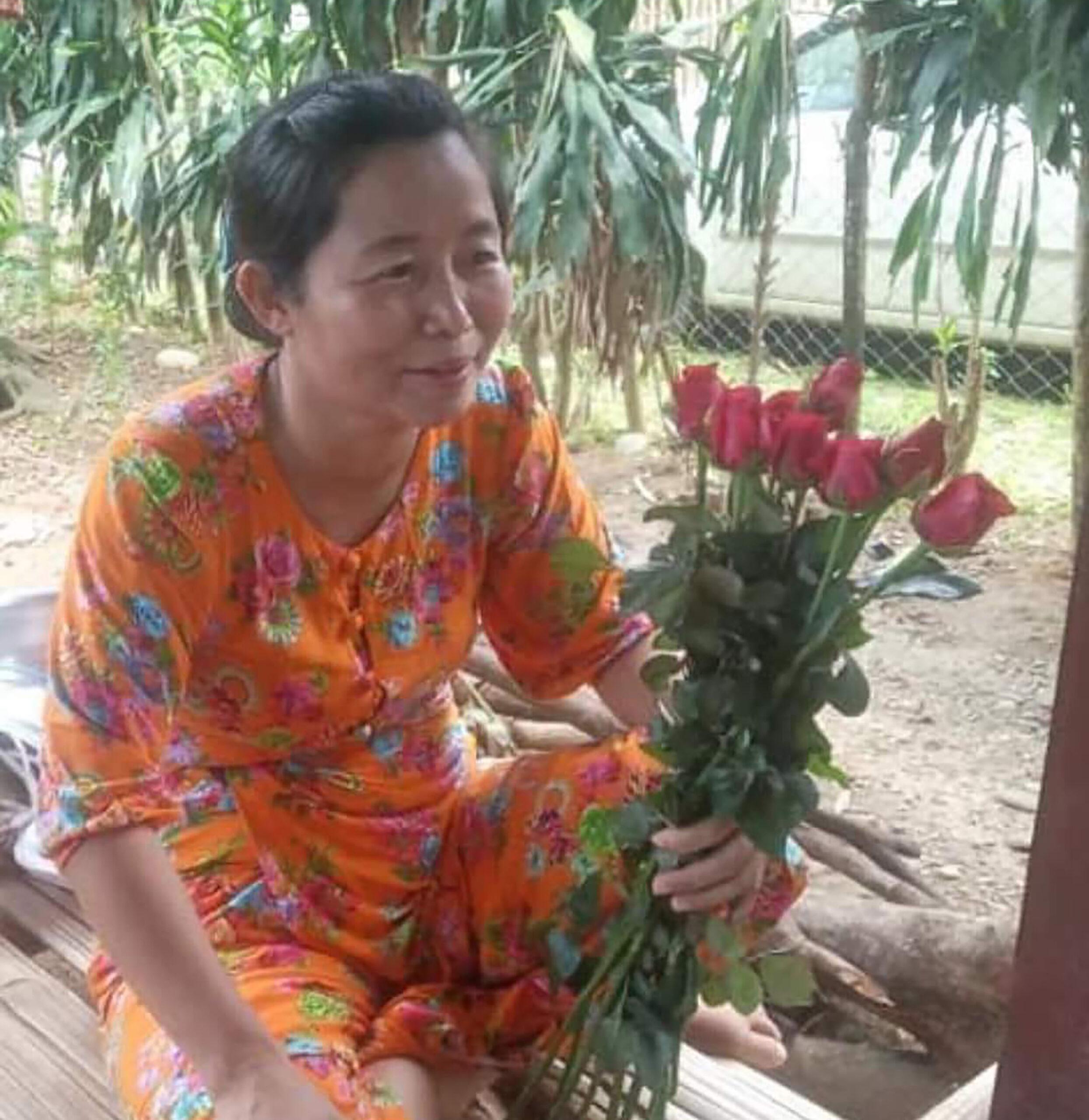 စစ်တပ်ကိုဆန့်ကျင်သော ဆရာမ ဒေါ်လငန်လွမ်းနော အကျဉ်းထောင်မှ ပြန်လည်လွတ်မြောက်လာ