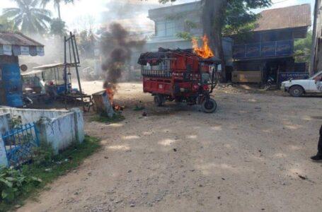မိုးမောက်မြို့ မိုင်းပေါက်ကွဲမူတွင် စစ်ကောင်စီမှ ၃ ဦး ဒဏ်ရာပြင်းထန်စွာရရှိ