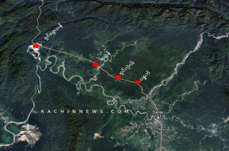 စစ်ကောင်စီ စစ်ကြောင်းများ တရုန်သို့သွားမည့်လမ်းကို KIA ပိတ်ဆို့ထားပြီး စစ်ရေးတင်းမာနေ