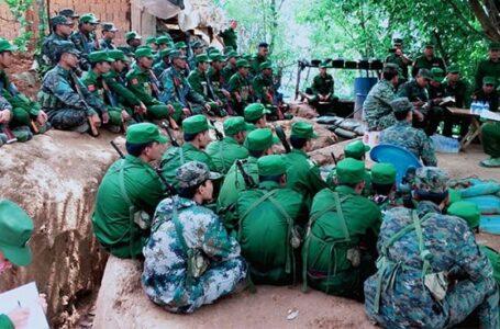 ပန်ဆိုင်း ရဲစခန်းကို ကိုးကန့်တပ် တိုက်ခိုက်ပြီးနောက် မုံးကိုးဘက်လည်း တိုက်ပွဲ ဆက်လက်ဖြစ်ပွားခဲ့