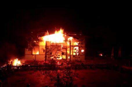 ထီးချိုင့် အလယ်တောရဲစခန်း မီးရှို့ဖျက်ဆီးခံရပြီးနောက် စစ်ကောင်စီတပ် အင်အားတိုးမြှင့်ချထား